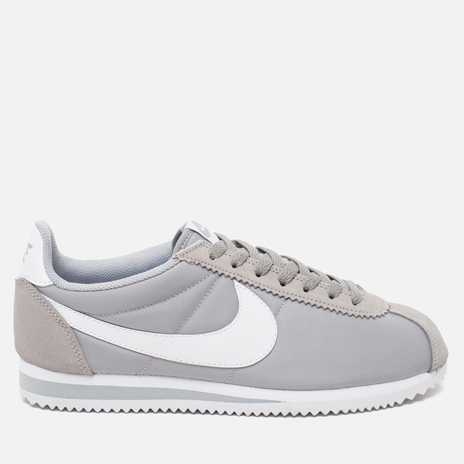 Nike Classic Cortez Nylon Wolf Men's Sneakers Grey/White