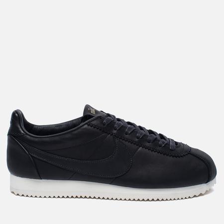 Мужские кроссовки Nike Classic Cortez Premium QS TZ Black/Black/White