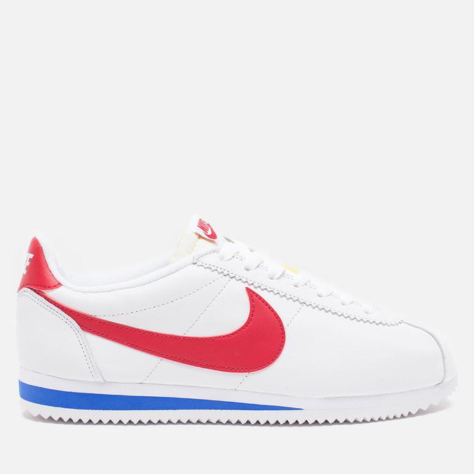 Мужские кроссовки Nike Classic Cortez Premium White Varsity/Red