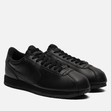 Мужские кроссовки Nike Cortez Basic Leather Black/Black/Anthracite фото- 0