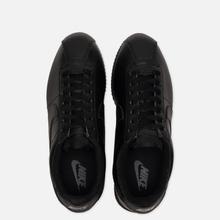 Мужские кроссовки Nike Cortez Basic Leather Black/Black/Anthracite фото- 1