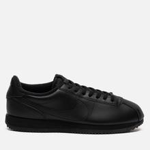 Мужские кроссовки Nike Cortez Basic Leather Black/Black/Anthracite фото- 3