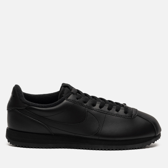 Мужские кроссовки Nike Cortez Basic Leather Black/Black/Anthracite