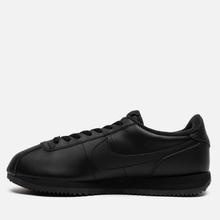 Мужские кроссовки Nike Cortez Basic Leather Black/Black/Anthracite фото- 5
