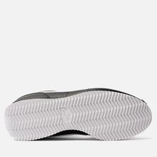Мужские кроссовки Nike Cortez Basic Leather Black/White/Metallic Silver фото- 4