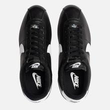 Мужские кроссовки Nike Cortez Basic Leather Black/White/Metallic Silver фото- 1