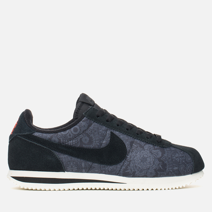 Мужские кроссовки Nike Cortez Basic Premium QS Day of the Dead Black