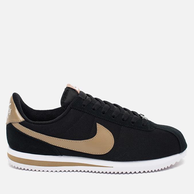 Мужские кроссовки Nike Cortez Basic Premium QS Black/Desert Camo