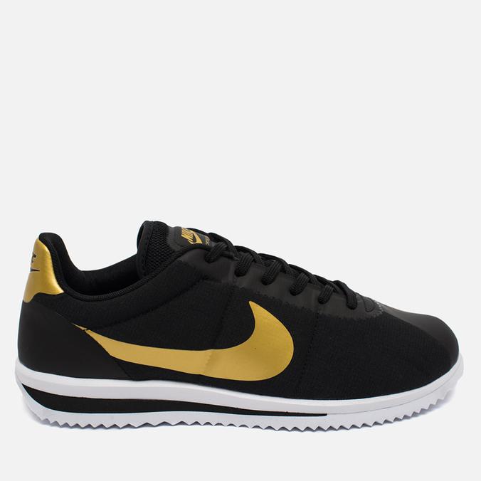 Мужские кроссовки Nike Cortez Ultra QS Black/Gold