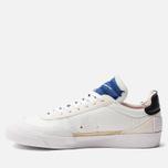 Мужские кроссовки Nike Drop Type Summit White/Black/White/Deep Royal Blue фото- 1