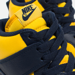 Мужские кроссовки Nike Dunk High Michigan Varsity Maize/Midnight Navy фото- 5