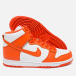 Мужские кроссовки Nike Dunk High Retro QS Syracuse White/Team Orange фото- 2