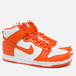 Мужские кроссовки Nike Dunk High Retro QS Syracuse White/Team Orange фото- 1