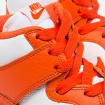 Мужские кроссовки Nike Dunk High Retro QS Syracuse White/Team Orange фото- 5