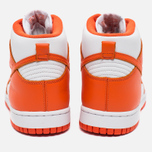 Мужские кроссовки Nike Dunk High Retro QS Syracuse White/Team Orange фото- 3