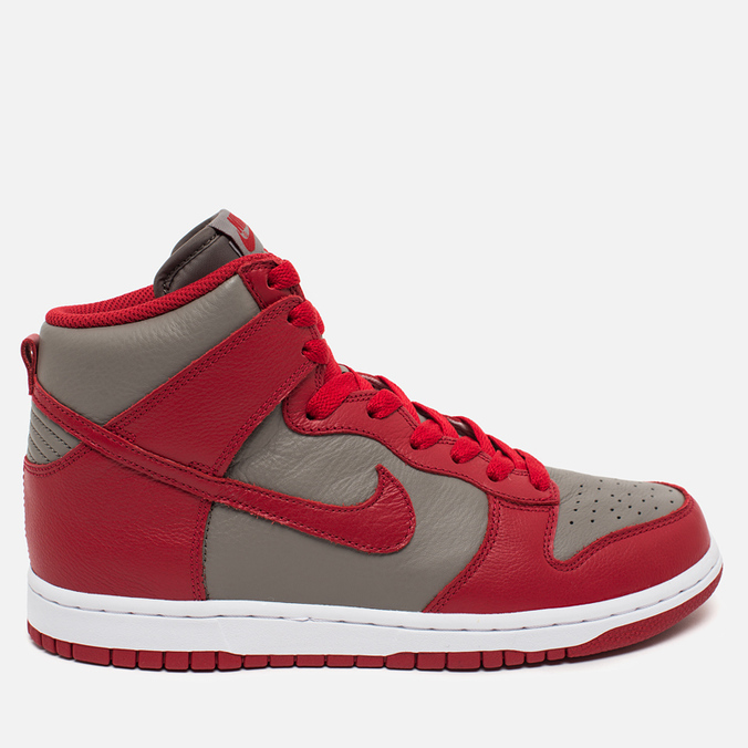 Мужские кроссовки Nike Dunk High UNLV Soft Grey/University Red