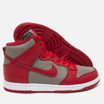 Мужские кроссовки Nike Dunk High UNLV Soft Grey/University Red фото- 2