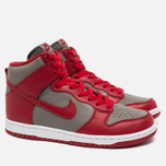 Мужские кроссовки Nike Dunk High UNLV Soft Grey/University Red фото- 1