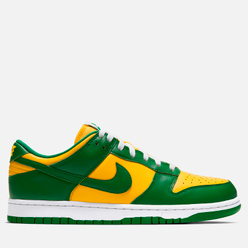 Мужские кроссовки Nike Dunk Low SP Brazil Varsity Maize/Pine Green/White