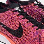 Мужские кроссовки Nike Flyknit Racer Black/Black/Hyper Orange/Vivid Purple фото- 5