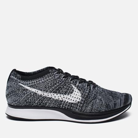 Кроссовки Nike Flyknit Racer Oreo 2.0 Black/White