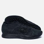 Мужские кроссовки Nike Flyknit Racer Triple Black фото- 1