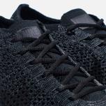 Мужские кроссовки Nike Flyknit Racer Triple Black фото- 3
