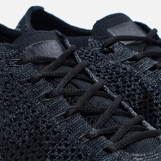Мужские кроссовки Nike Flyknit Racer Triple Black