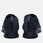 Мужские кроссовки Nike Flyknit Racer Triple Black фото- 5