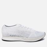 Мужские кроссовки Nike Flyknit Racer White/White/Sail/Pure Platinum фото- 0