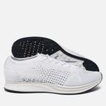 Мужские кроссовки Nike Flyknit Racer White/White/Sail/Pure Platinum фото- 1