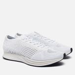 Мужские кроссовки Nike Flyknit Racer White/White/Sail/Pure Platinum фото- 2