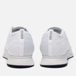 Мужские кроссовки Nike Flyknit Racer White/White/Sail/Pure Platinum фото- 3