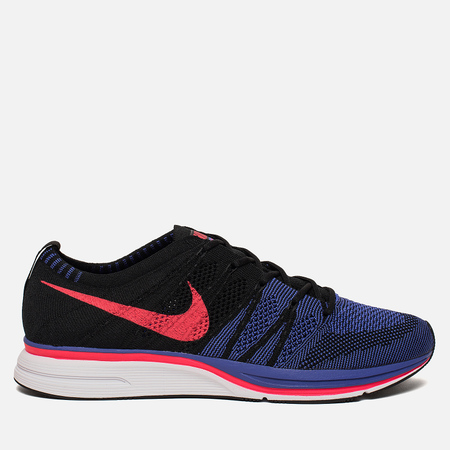 Мужские кроссовки Nike Flyknit Trainer Black/Siren Red/White/Persian Violet