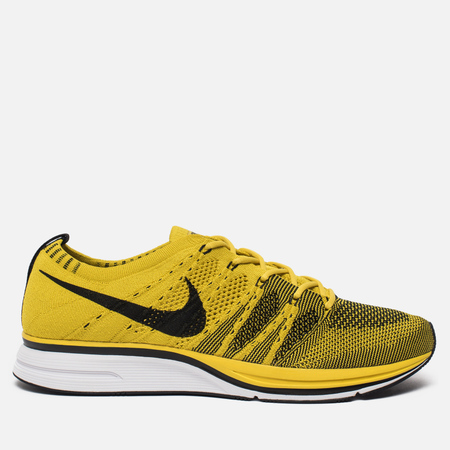 Мужские кроссовки Nike Flyknit Trainer Bright Citron/Black/White