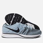Мужские кроссовки Nike Flyknit Trainer Cirrus Blue/Black/White фото- 1
