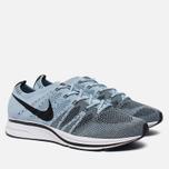 Мужские кроссовки Nike Flyknit Trainer Cirrus Blue/Black/White фото- 2