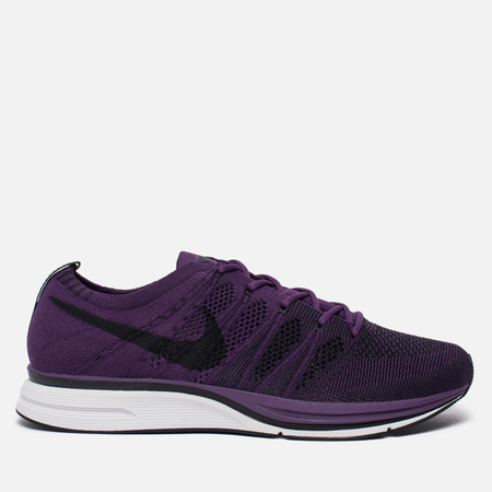 Мужские кроссовки Nike Flyknit Trainer Night Purple/Black/White