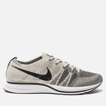 Мужские кроссовки Nike Flyknit Trainer Pale Grey/Black/White