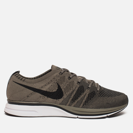 Мужские кроссовки Nike Flyknit Trainer Medium Olive/Black/White
