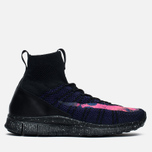 Мужские кроссовки Nike Free Flyknit Mercurial Black/Court Purple/Vivid Purple фото- 0