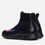 Мужские кроссовки Nike Free Flyknit Mercurial Black/Court Purple/Vivid Purple фото- 2