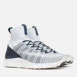 Мужские кроссовки Nike Free Flyknit Mercurial Pure Platinum/White/Dark Grey/Obsidian фото- 1