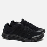 Мужские кроссовки Nike Free Flyknit NSW Black/Black фото- 1