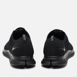 Мужские кроссовки Nike Free Flyknit NSW Black/Black фото- 3