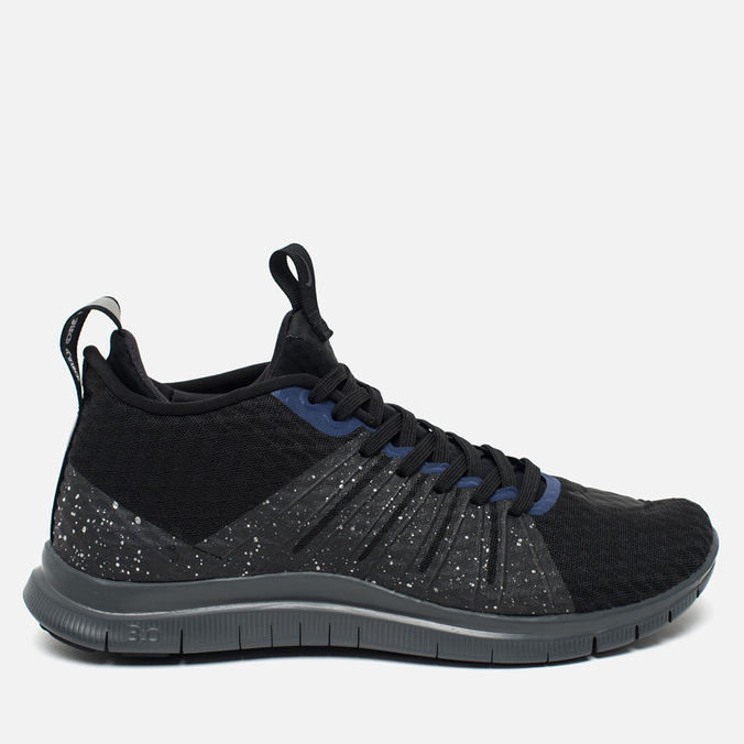 Мужские кроссовки Nike Free Hypervenom 2 Black/Reflect Silver/Deep Royal Blue