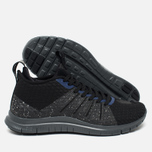 Мужские кроссовки Nike Free Hypervenom 2 Black/Reflect Silver/Deep Royal Blue фото- 2