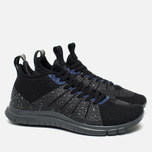 Мужские кроссовки Nike Free Hypervenom 2 Black/Reflect Silver/Deep Royal Blue фото- 1