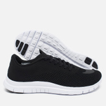 Мужские кроссовки Nike Free Hypervenom Low Black/White фото- 2