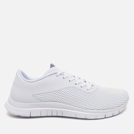 Nike Free Hypervenom Low Men's Sneakers White/Metallic Silver